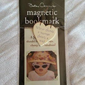 Cute Magnetic Bookmark